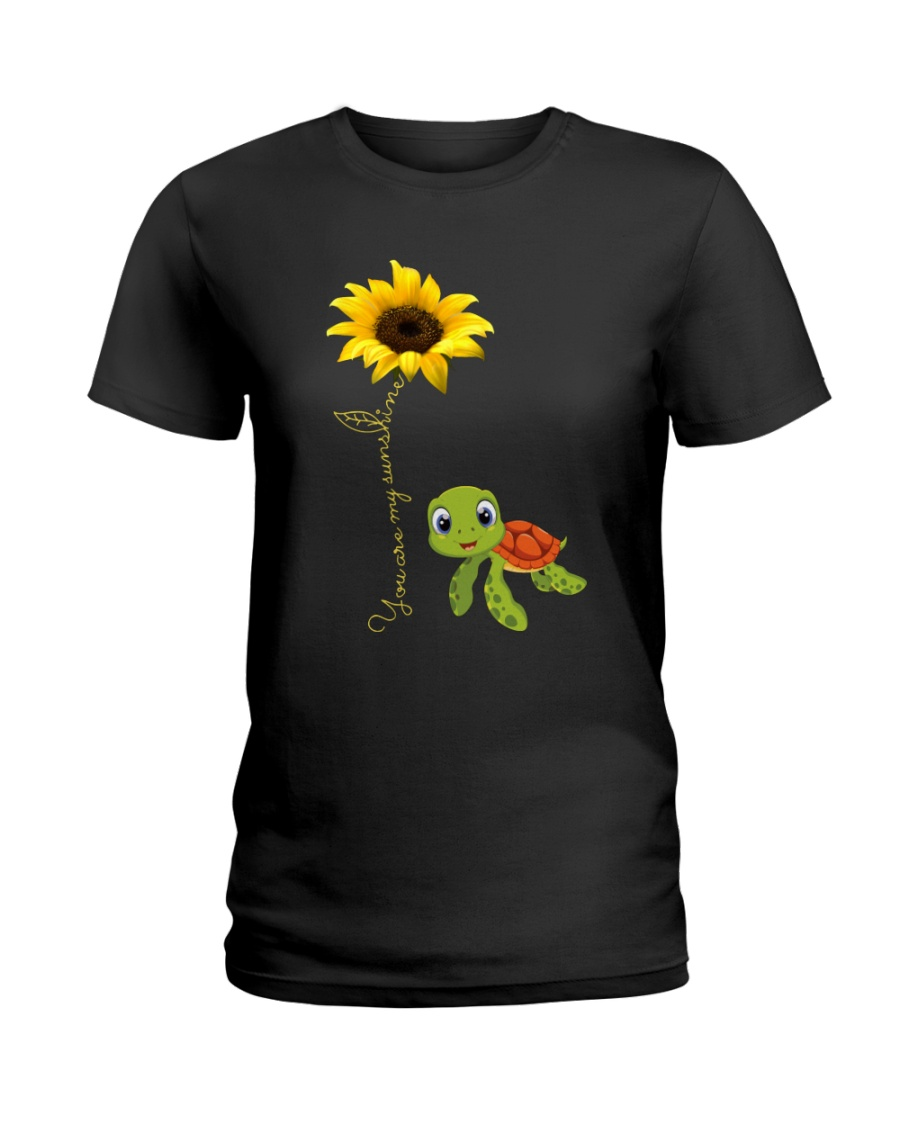 YOU ARE MY SUNSHINE - TURTLE Ladies T-Shirt