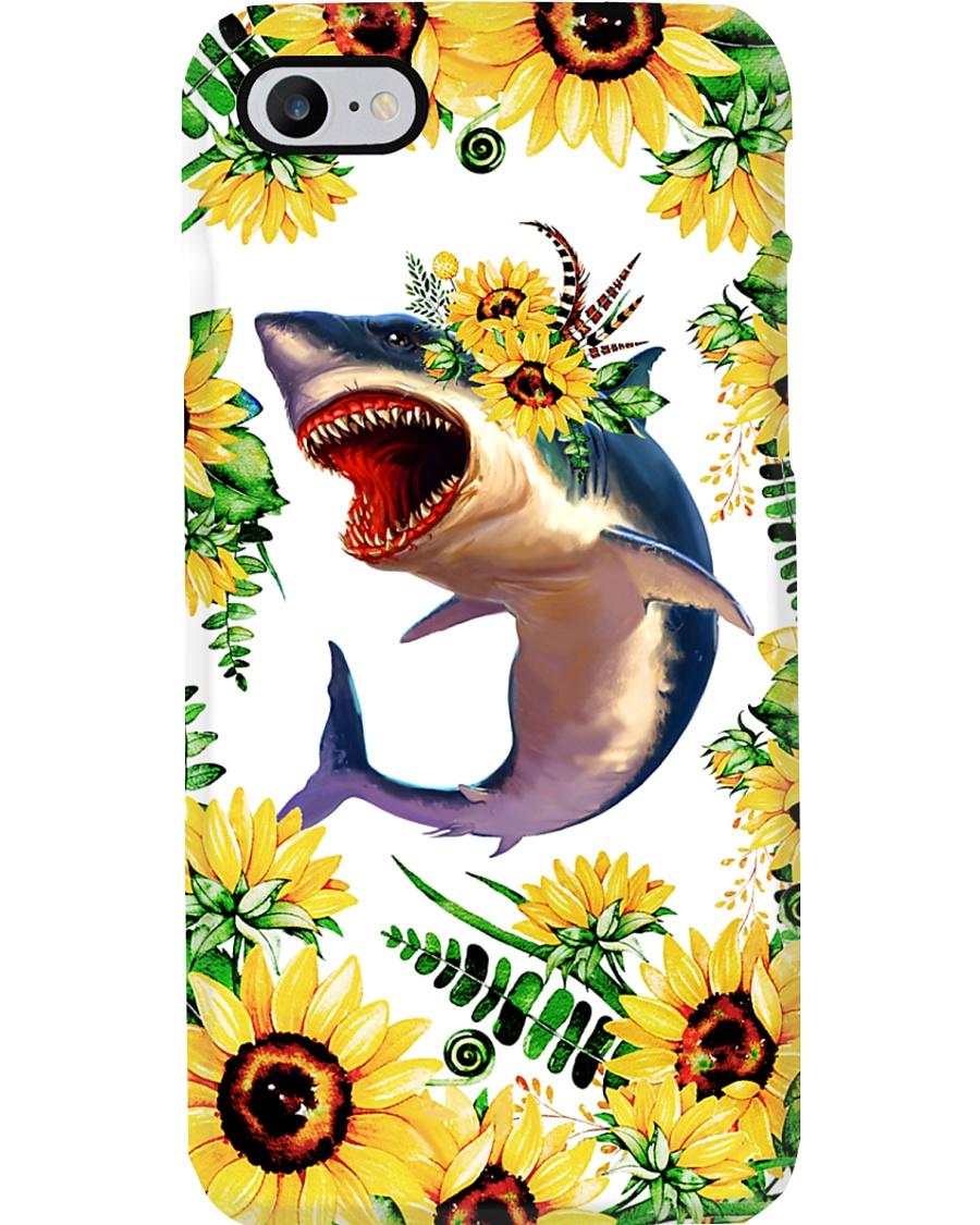 FLOWER SHARK Phone Case
