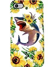 FLOWER SHARK Phone Case i-phone-7-case