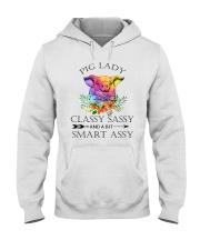 PIG LADY CLASSY SASSAY AND A BIT SMART ASSY Hooded Sweatshirt thumbnail