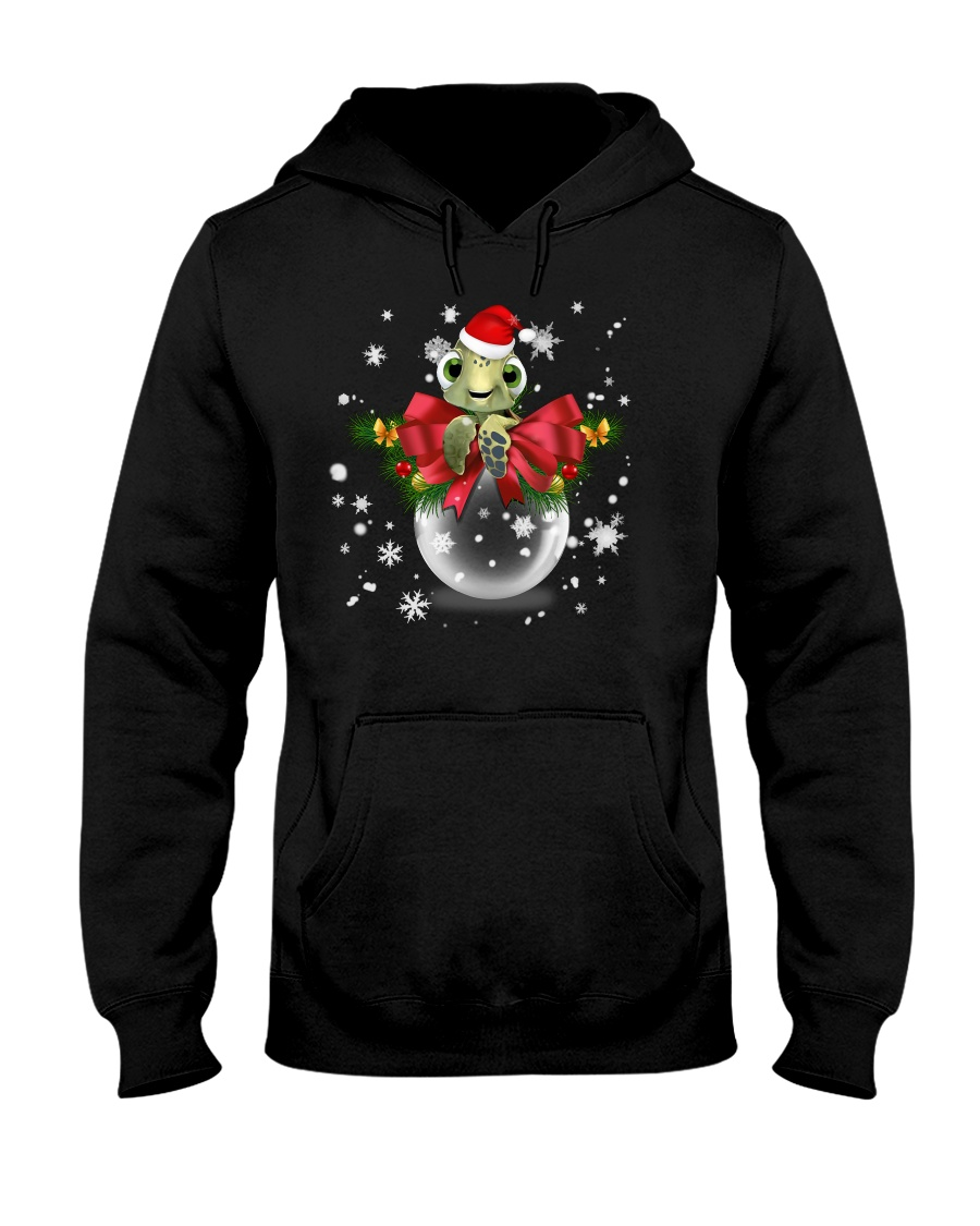TURTLE GLASS BALL Hooded Sweatshirt