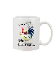 I'M JUST A GIRL WHO LOVES CHICKENS Mug thumbnail
