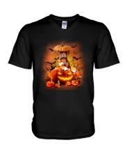 BOXER HAT V-Neck T-Shirt thumbnail