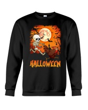 CHICKEN HALLOWEEN RUNNING Crewneck Sweatshirt thumbnail