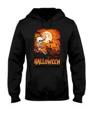 CHICKEN HALLOWEEN RUNNING Hooded Sweatshirt thumbnail