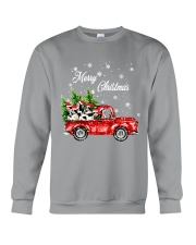 MERRY CHRISTMAS COW Crewneck Sweatshirt thumbnail