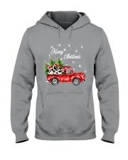 MERRY CHRISTMAS COW Hooded Sweatshirt thumbnail
