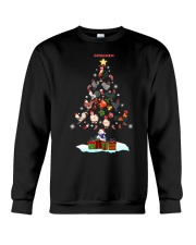 CHICKEN CHRISTMAS TREE Crewneck Sweatshirt front