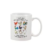 I WANT CHICKENS TO LIKE ME Mug thumbnail