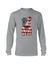 AMERICA FLAG PIG Long Sleeve Tee thumbnail