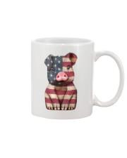 AMERICA FLAG PIG Mug thumbnail