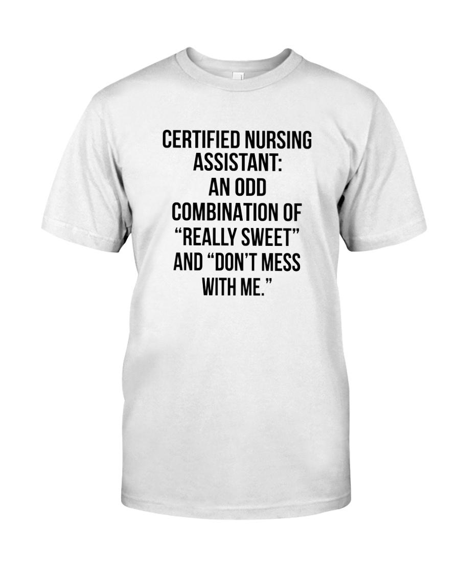 CNA AN ODD COMBINATION Classic T-Shirt