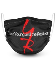THE YOUNG AND THE RESTLESS 2 Layer Face Mask - Single thumbnail