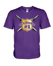 Ace Dawg Shield  V-Neck T-Shirt thumbnail