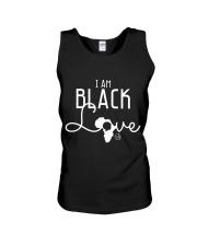 I AM BLACK LOVE  Unisex Tank thumbnail