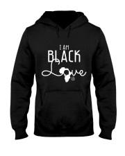 I AM BLACK LOVE  Hooded Sweatshirt thumbnail