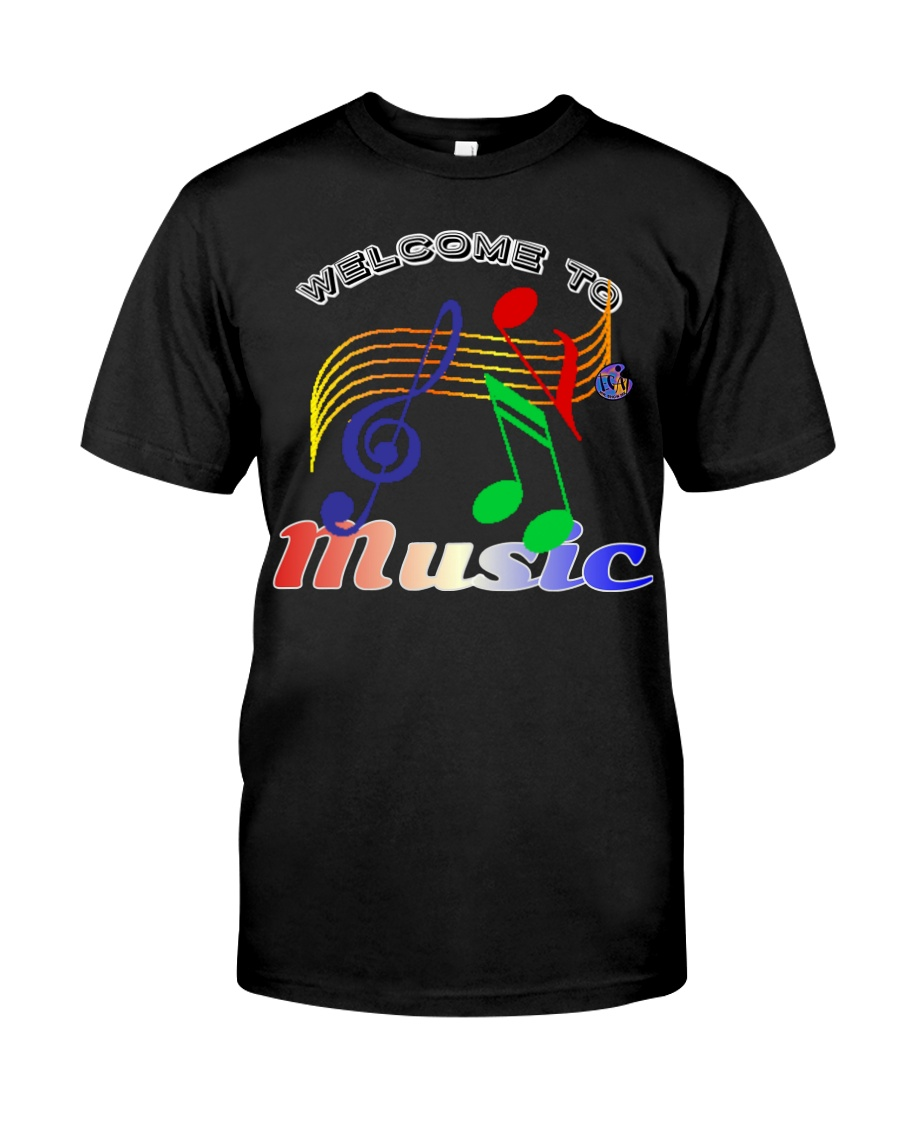 Welcome to Music Classic T-Shirt