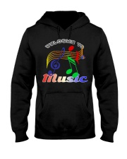 Welcome to Music Hooded Sweatshirt thumbnail