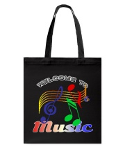 Welcome to Music Tote Bag thumbnail