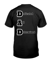 DAD super power Classic T-Shirt back