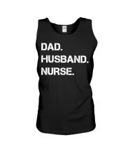 Dad Husband Nurse Unisex Tank thumbnail