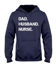 Dad Husband Nurse Hooded Sweatshirt thumbnail