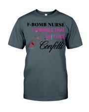 F-Bomb Nurse Classic T-Shirt tile