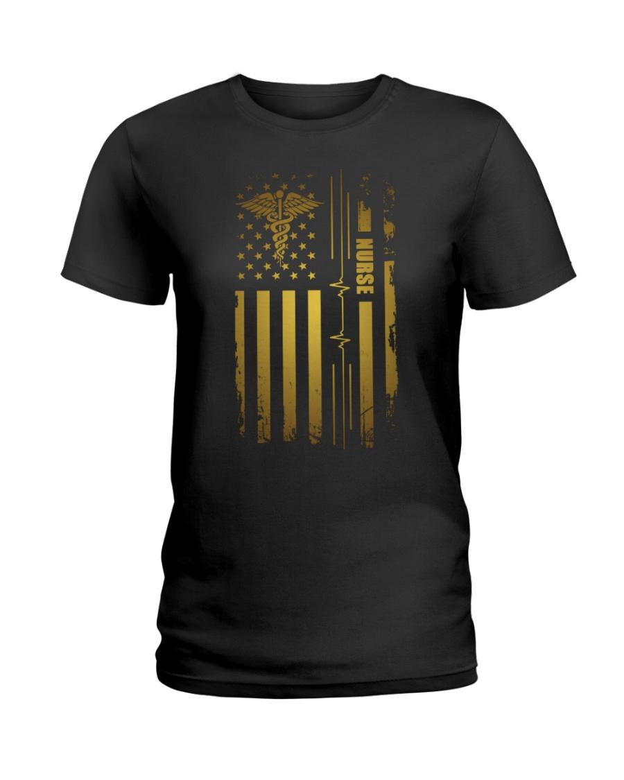 American Medical Montage Shirt Ladies T-Shirt
