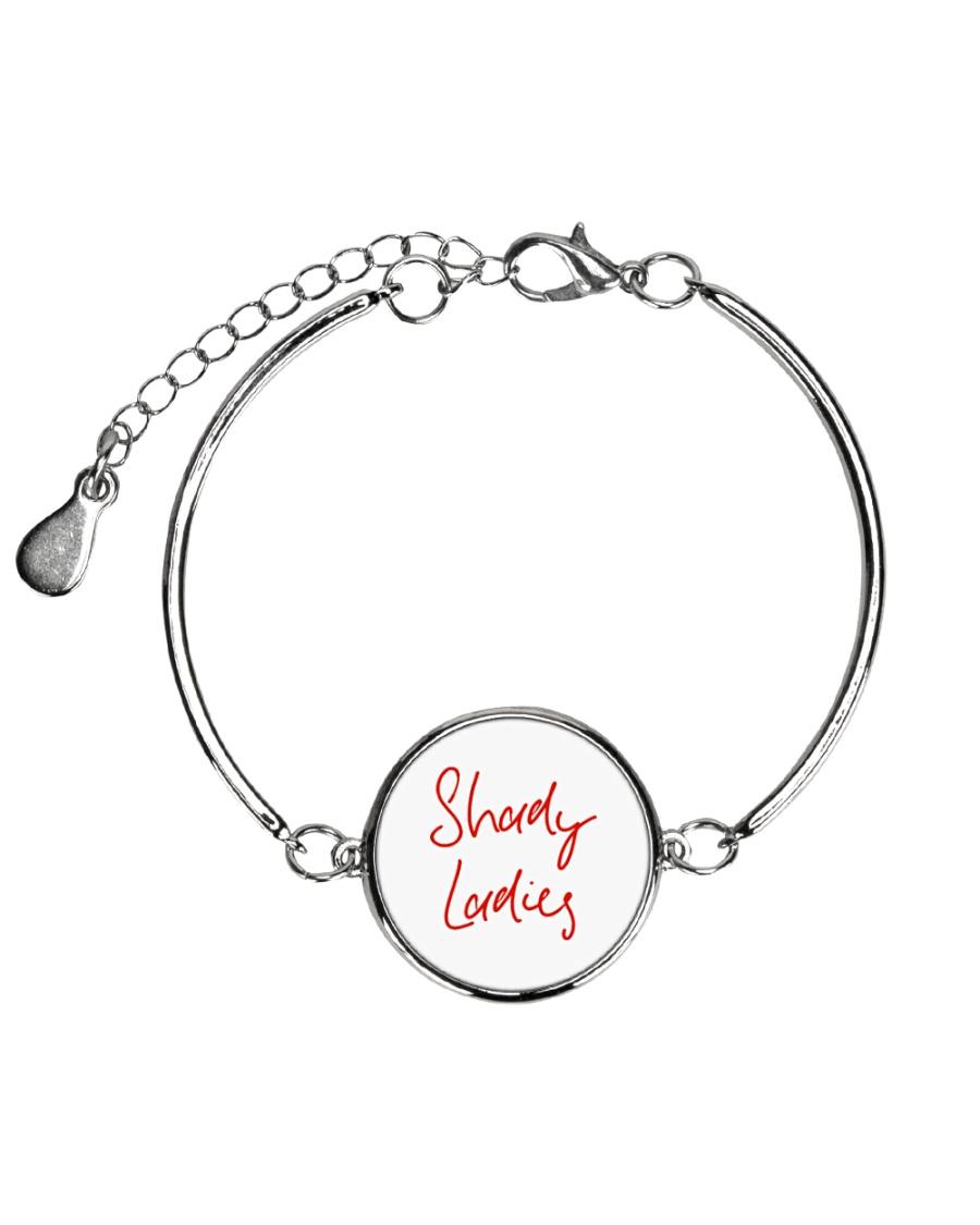 Shady Ladies Metallic Circle Bracelet