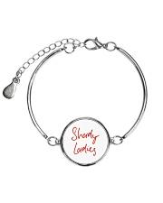 Shady Ladies Metallic Circle Bracelet front