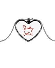 Shady Ladies Metallic Heart Necklace thumbnail