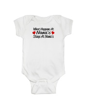 grandson 1st birthday granddaughter 1st birthday g Onesie thumbnail