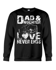 DAD AND DAUGHTER DAD AND DAUGHTER DAD AND DAUGHTER Crewneck Sweatshirt thumbnail