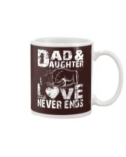 DAD AND DAUGHTER DAD AND DAUGHTER DAD AND DAUGHTER Mug tile