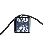 DAD AND DAUGHTER DAD AND DAUGHTER DAD AND DAUGHTER Cord Rectangle Necklace front