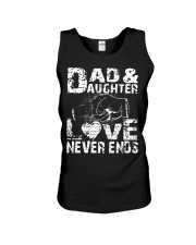 dad dad dad dad daughter daughter daughter Unisex Tank thumbnail
