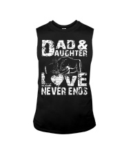NECKLACE GIFT FOR YOUR DAUGHTER BEST DAD EVER  Sleeveless Tee thumbnail
