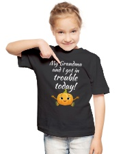 GRANDAUGHTER-GRANDAUGHTER-GRANDAUGHTER-GRANDAUGHTE Youth T-Shirt lifestyle-youth-tshirt-front-2