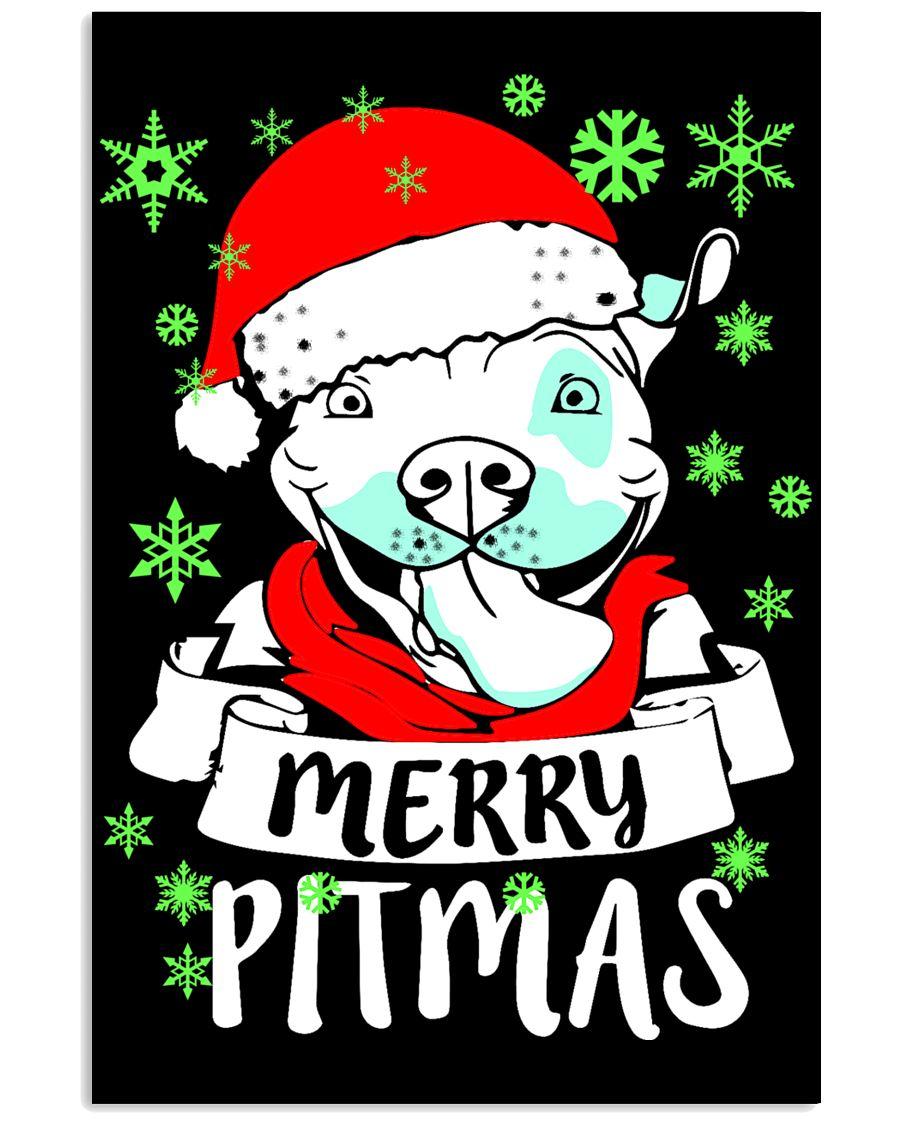 pit pit pit pitbull pitbull pitbull pit bull 11x17 Poster