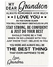 Grandson Grandson Grandson Grandson 11x17 Poster front