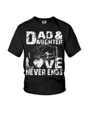 smartass daughter necklace smartass daughter Youth T-Shirt thumbnail