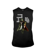 Be strong and courageous for the lord Sleeveless Tee thumbnail
