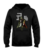 Be strong and courageous for the lord Hooded Sweatshirt thumbnail