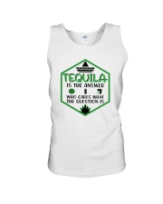 Tequila Is The Answer Funny Tequila Shirt Unisex Tank thumbnail