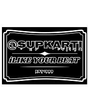 Sup Karti iLike Your Beat Poster 17x11 Poster front