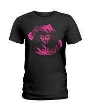 I Heart Nails Sweet Cherry Ladies T-Shirt thumbnail