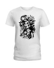 Sweet Cherry Pinup Ladies T-Shirt thumbnail