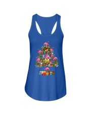 Flamingo Christmas Tree Merry Christmas Ladies Flowy Tank thumbnail