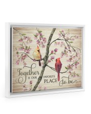 Together 14x11 White Floating Framed Canvas Prints thumbnail