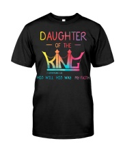Daughter of the King Classic T-Shirt front